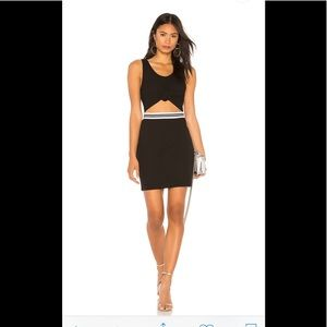 KENDALL & KYLIE Black Cutout Dress